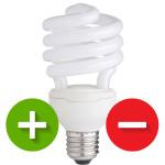 Zalety i wady świetlówek (energooszczędnych)