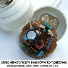 układ elektroniczny świetlówki kompaktowej